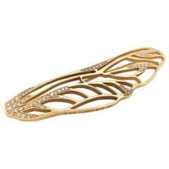 Tiffany & Co. Angela Cummings Gold and Diamond Dragonfly Pin