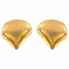 Tiffany & Co. Angela Cummings Rose Petal Earrings