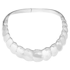 Tiffany & Co. Angela Cummings Sterling Silver Collar Necklace