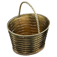 Tiffany & Co Antique Silver Gilt Basket, Early 20th Century