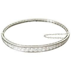 Tiffany & Co. Art Deco Diamond and Platinum Bracelet circa 1920s or 1930s