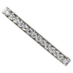 Tiffany & Co. Art Deco Diamond Platinum Brooch