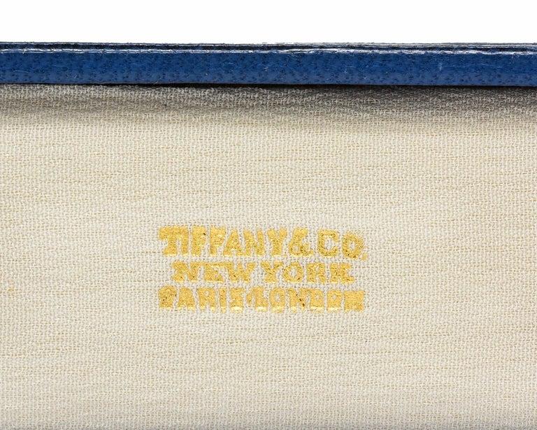 Tiffany & Co. Art Deco Diamond Platinum Link Bracelet For Sale 5