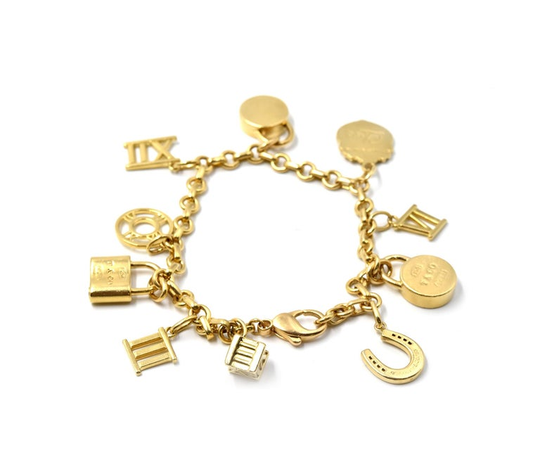 Tiffany And Co Atlas Collection 18 Karat Yellow Gold