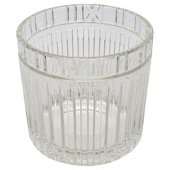 Tiffany & Co. Atlas Crystal Glass Champagne Ice Cooler Bucket