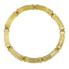 "Tiffany & Co. ""Atlas"" Diamond Collection Necklace"