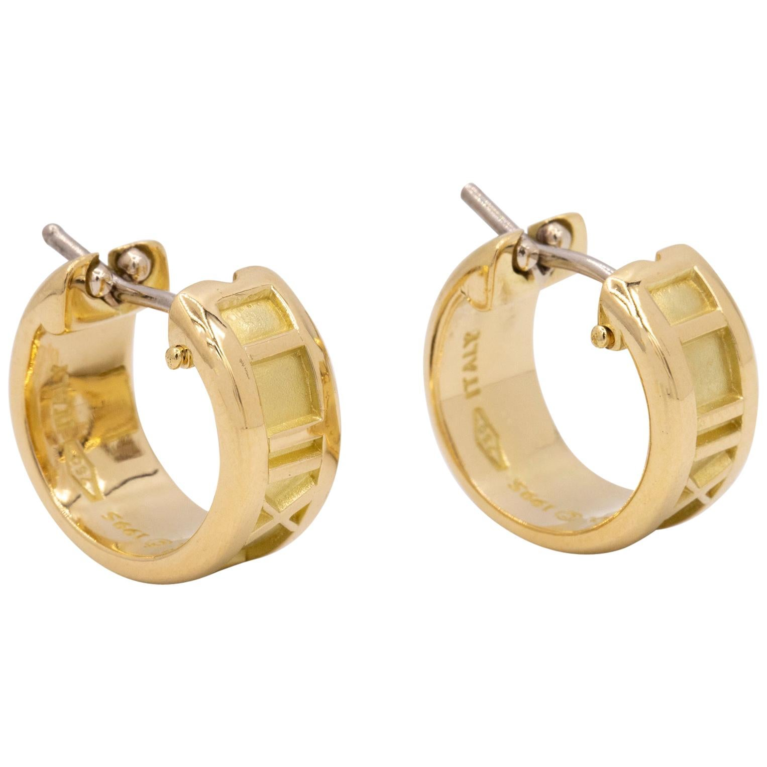 Atlas Hoop Earrings