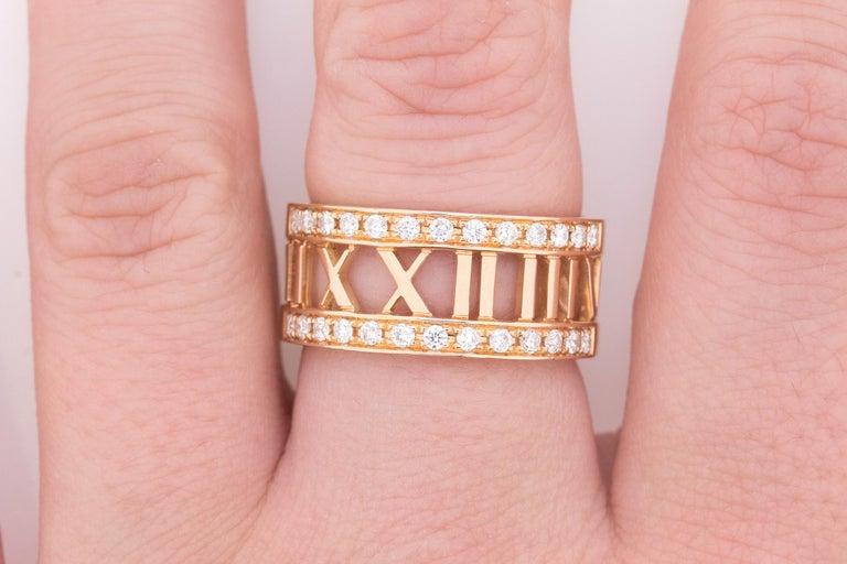 Tiffany & Co. Atlas Open Diamond Ring 1