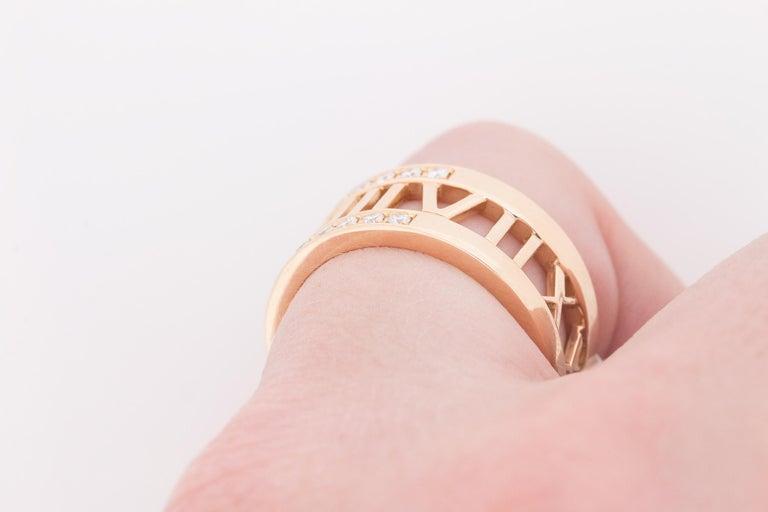Tiffany & Co. Atlas Open Diamond Ring 2
