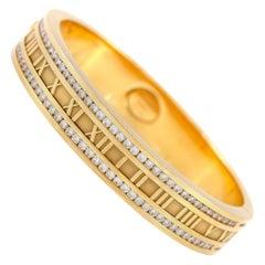 Tiffany & Co. Atlas Roman Numeric with Diamond Bracelet