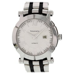 Tiffany & Co. Atlas Stainless Steel and Rubber T1392