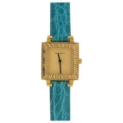 Tiffany & Co. Atlas Yellow Gold Luxury Watch