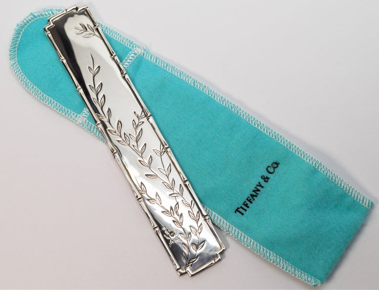 Enrich your reading experience with this vintage treat. By Tiffany & Co. and made of made of .925 sterling silver, the