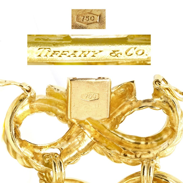 Tiffany & Co. Braided Gold Bracelet For Sale 1