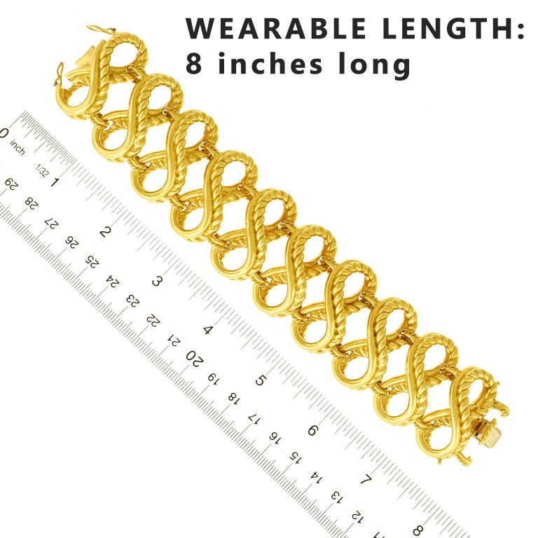 Tiffany & Co. Braided Gold Bracelet For Sale 2
