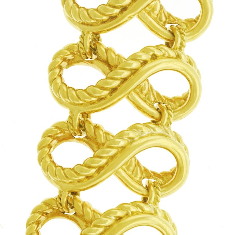 Tiffany & Co. Braided Gold Bracelet For Sale 5