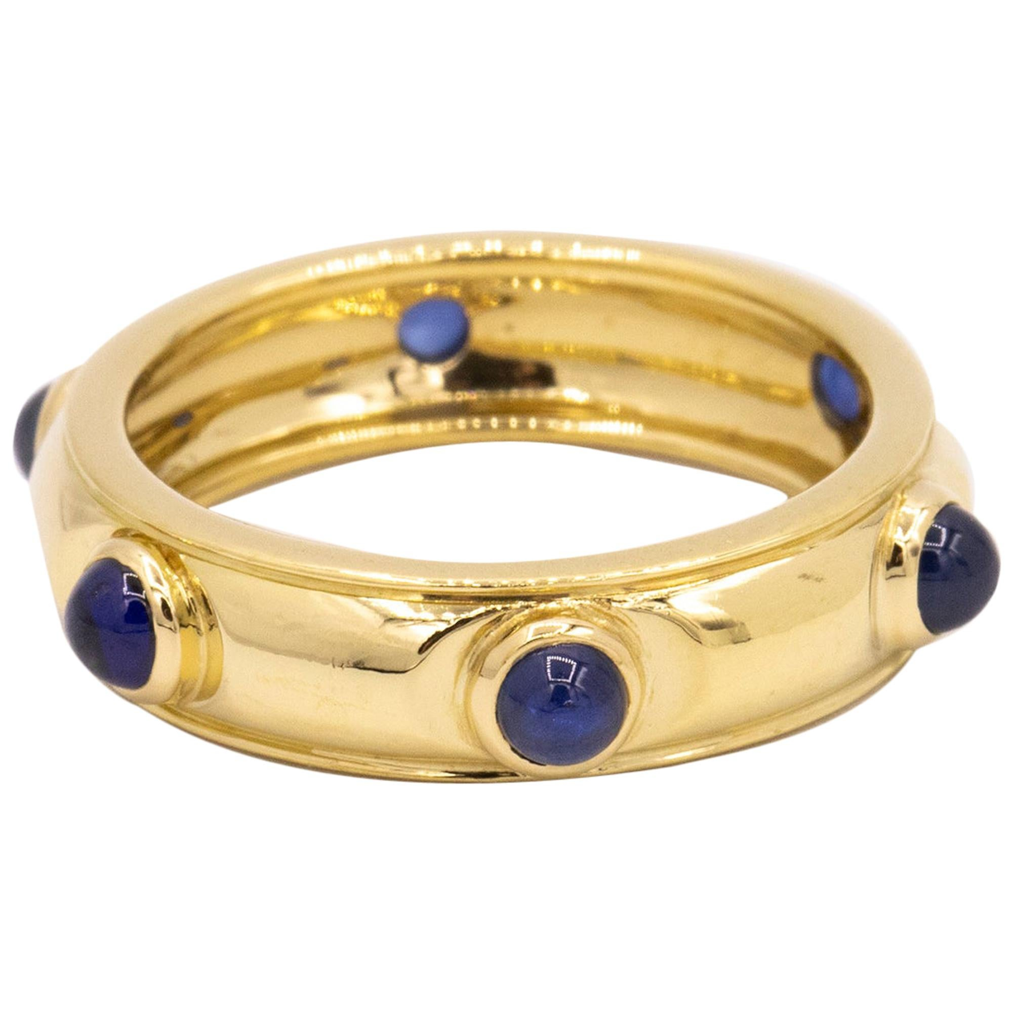 Tiffany & Co. Cabochon Sapphire Ring