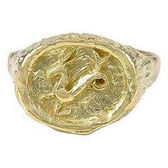 Tiffany & Co. Capricorn Gold Ring