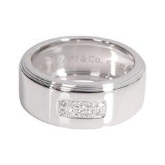 Tiffany & Co. Century Diamond Band in 18k White Gold G-H VS2 0.10 CTW