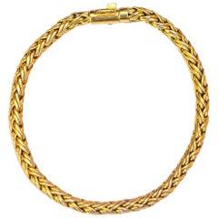Tiffany & Co. Chain Bracelet 18 Karat Yellow Gold 13.80 Grams