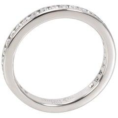 Tiffany & Co. Channel Diamond Wedding Band in Platinum 0.40 Carat