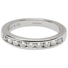 Tiffany & Co. Channel Set Diamond Wedding Band in Platinum 0.33 Carat