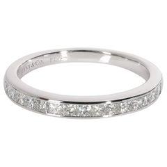 Tiffany & Co. Channel Set Princess Diamond Wedding Band in Platinum 0.5 Carat
