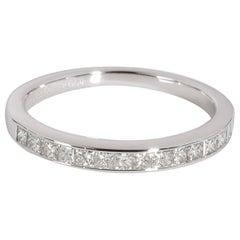 Tiffany & Co. Channel Set Princess Diamond Wedding Band in Platinum 0.50 Carat