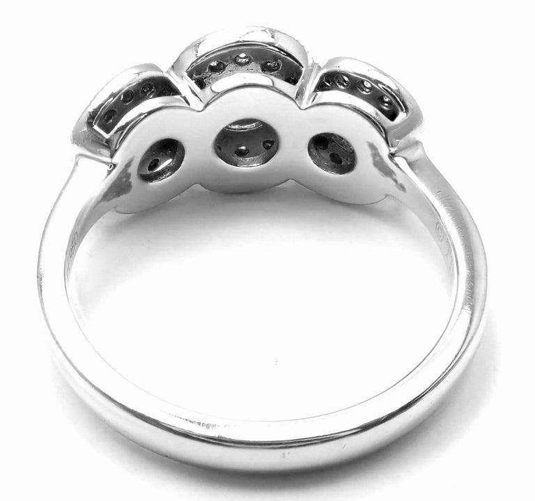 Brilliant Cut Tiffany & Co. Circlet Platinum Diamond Band Ring For Sale