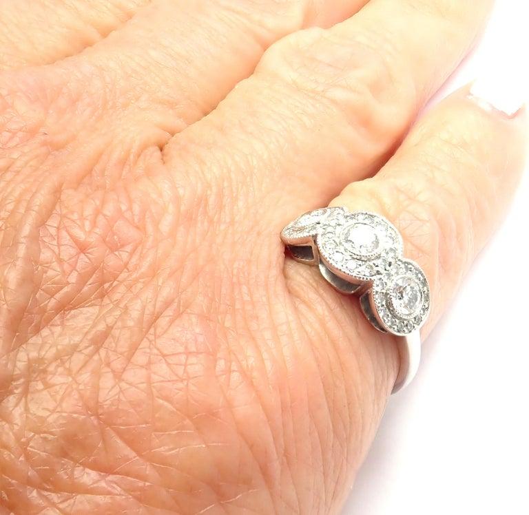 Tiffany & Co. Circlet Platinum Diamond Band Ring For Sale 3