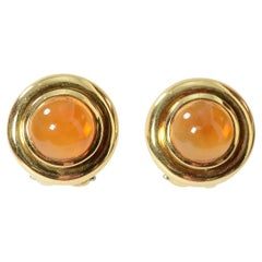 Tiffany & Co. Citrine Gold Earrings