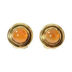 Tiffany & Co. Citrine Gold Earrings