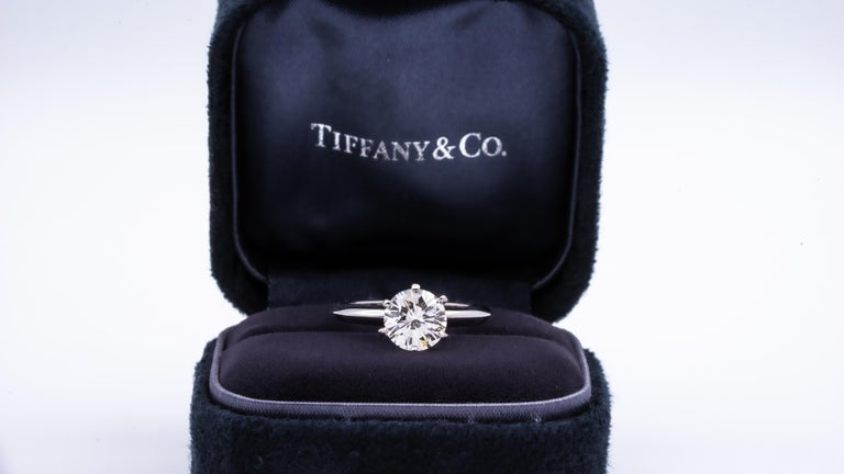 Round Cut Tiffany & Co.
