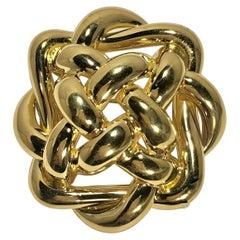 Tiffany & Co. Classic Gold Brooch