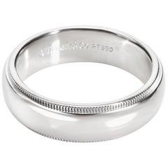 Tiffany & Co. Classics Men's Wedding Band in Platinum
