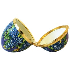 Tiffany & Co. Colorful Enamel 'Egg' Jewelry Box