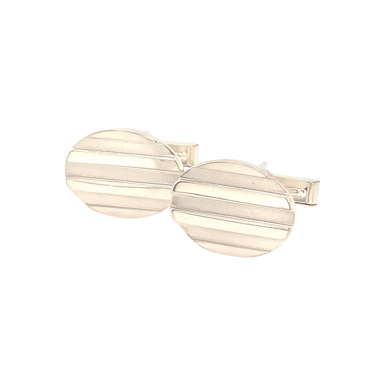 Tiffany & Co. Estate Cufflinks Sterling Silver 925 10.8 Grams