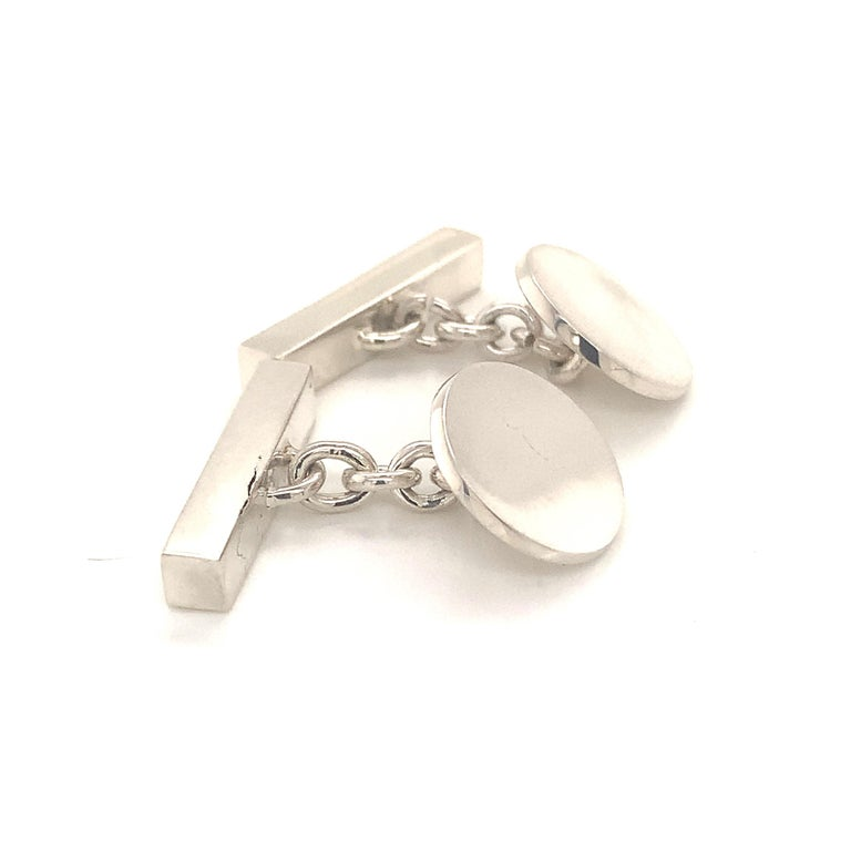 Tiffany & Co. Estate Cufflinks Sterling Silver 925 10.9 Grams 1