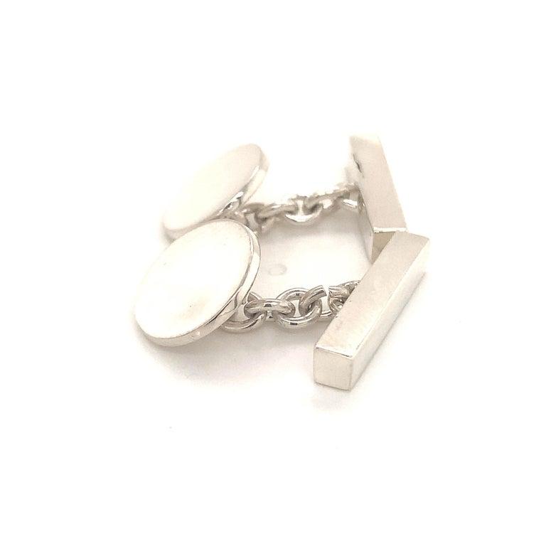 Tiffany & Co. Estate Cufflinks Sterling Silver 925 10.9 Grams 5