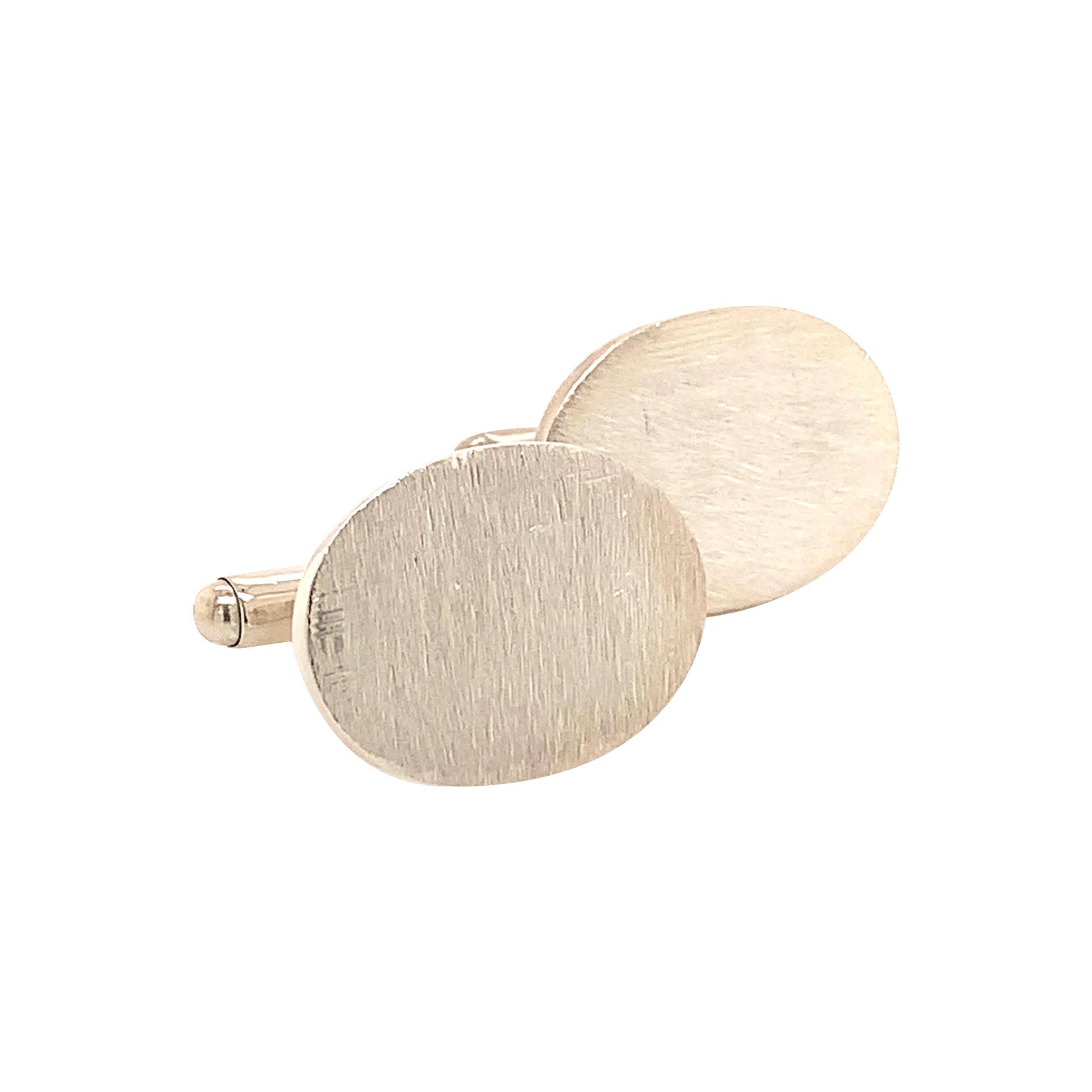 Tiffany & Co. Estate Cufflinks Sterling Silver 925 15.3 Grams