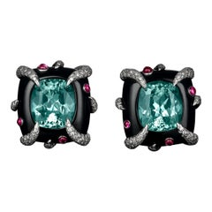 Tiffany & Co. Cuprian Tourmaline Earrings