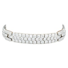 Tiffany & Co. Diamond and Platinum Bracelet