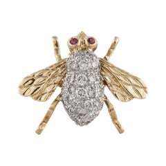 Tiffany & Co. Diamond Bee Pin