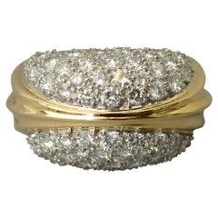 Tiffany & Co. Diamond Cocktail Ring