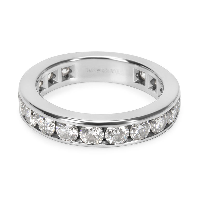 6af0f956310 Diamond Eternity Band in Platinum 1.80 Carat For Sale. In excellent  condition and recently polished. Retails for 8