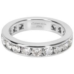Tiffany & Co. Diamond Eternity Band in Platinum 1.80 Carat