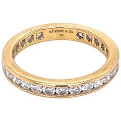 Tiffany & Co. Diamond Eternity Band Ring Estate Fine Jewelry