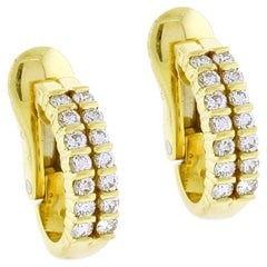 Tiffany & Co. Diamond Hoop Earrings