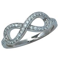 Tiffany & Co. Diamond Infinity Ring