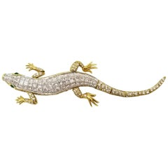 Tiffany & Co. Diamond Lizard Brooch